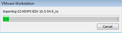 Importstatus-NetScaler-VPX-VMWareWorkstation