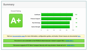 Citrix Netscaler Gateway SSL work finished - A+ Ranking